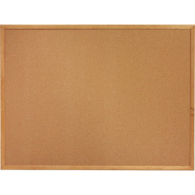 Lorell Oak Wood Frame Cork Board 3 x 4