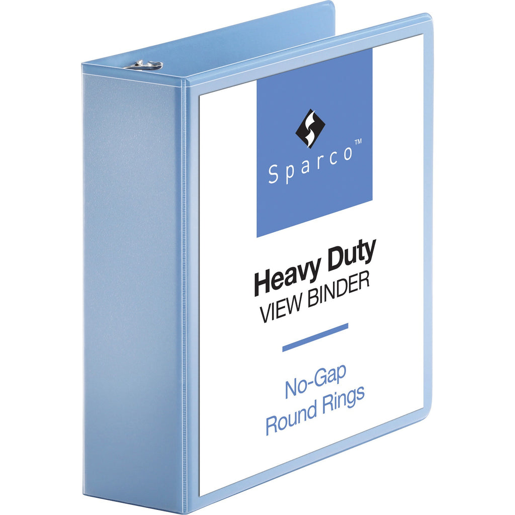 "Business Source Round ring View Binder  3"" Binder Capacity"