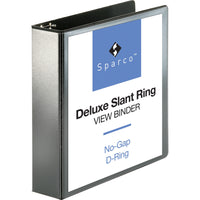 "Business Source Slant-D Ring Binder - 2"" Binder Capacity"