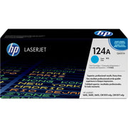HP 124A Original Toner Cartridge - Single Pack - Laser - Standard Yield - 2000 Pages - Cyan - 1 Each