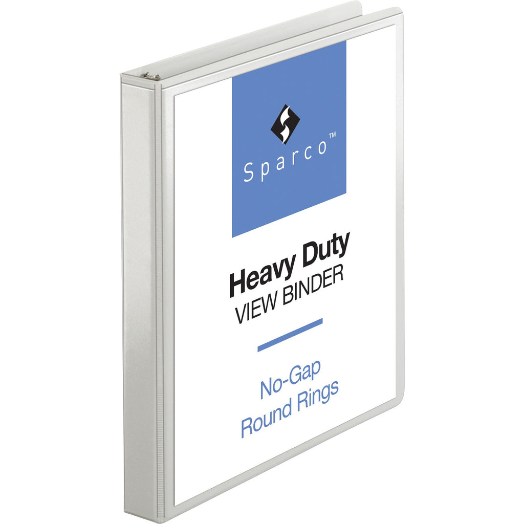 "Business Source Heavy duty View Binder  1"" Binder Capacity"