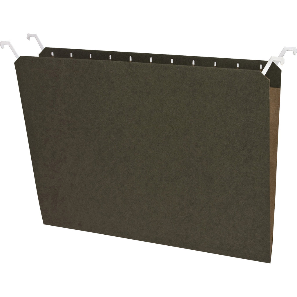 Business Source Tabview Hanging File Folders 20PK Letter