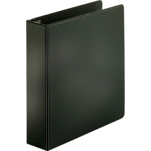 "Business Source EasyOpen Locking Slant-D Ring Binders - 2"" - Black"