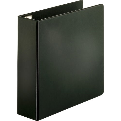 "Business Source EasyOpen Locking Slant-D Ring Binders - 3""  - Black"