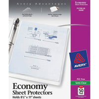 Avery Economy Weight Sheet Protectors 50pk