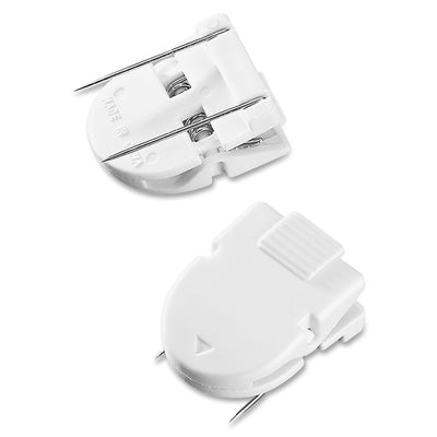 Advantus Panel Wall Clips 50 / Box - White - Plastic