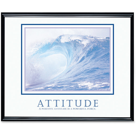 Advantus Decorative Motivational Attitude Poster