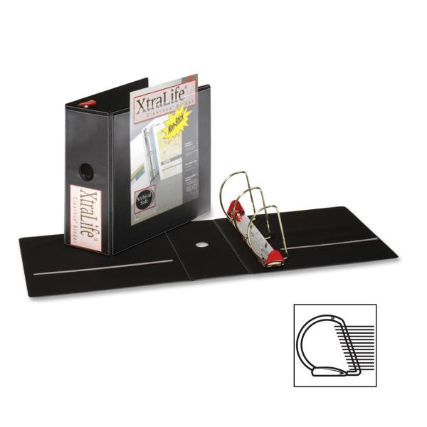 Cardinal XtraLife ClearVue Locking Slant D Ring Binder 5""
