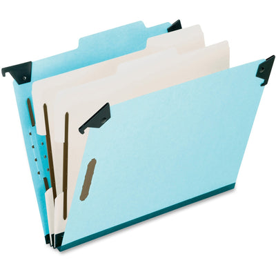 Pendaflex Blue Pressboard Hanging Classification Folder