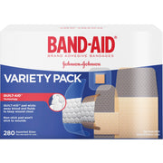 Band Aid Variety Pack Adhesive Bandages
