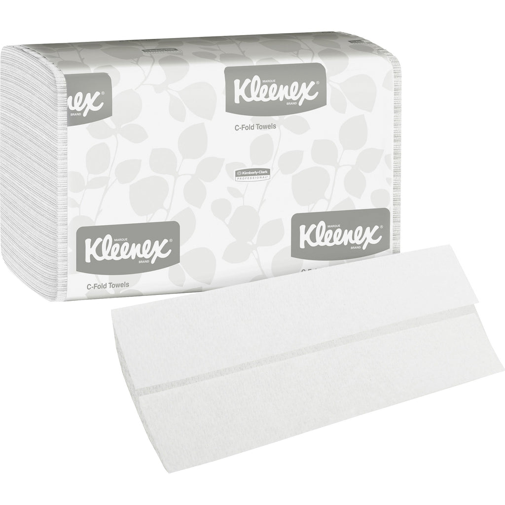 Kleenex C Fold Towels 2400 Sheets per Carton
