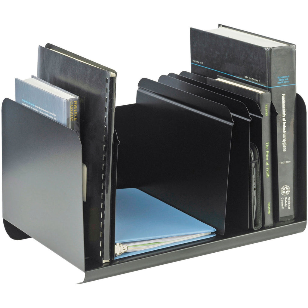 MMF Adjustable Dividers Book Rack