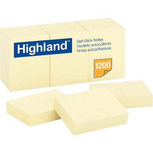 Highland Self Sticking Note Pads