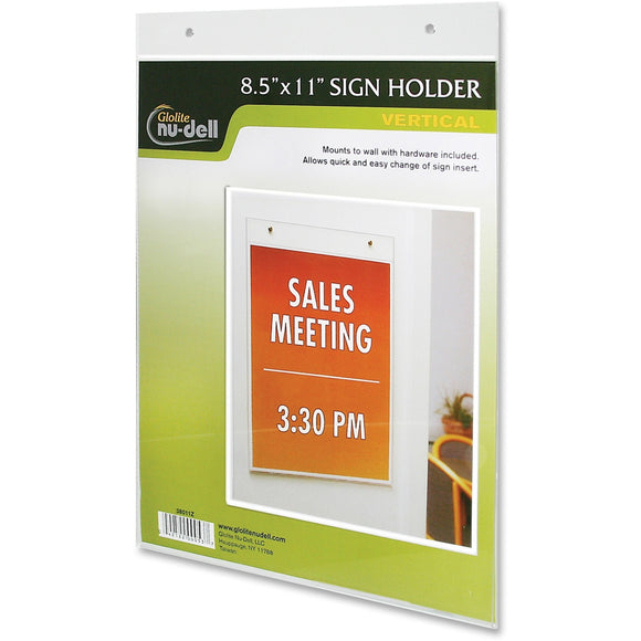 Nu Dell Acrylic Sign Holders