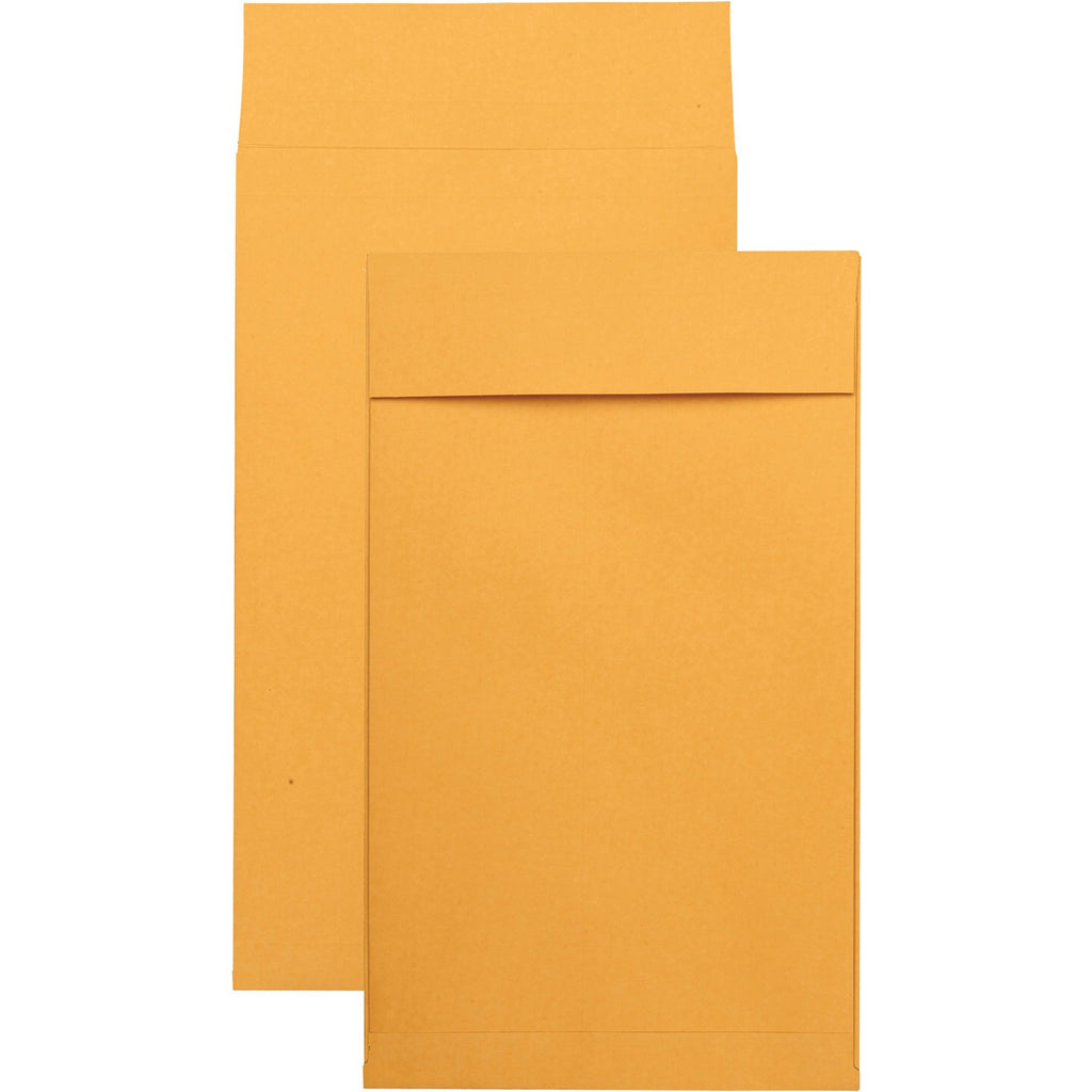 Quality Park Kraft Redi strip Expansion Envelopes 10 x 15