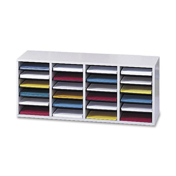 Safco Adjustable Shelves Literature Organizers