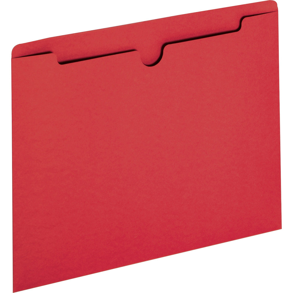 Sparco Reinforced Tab Colored File Jackets