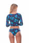 Vestido de baño manga larga 3024| Long sleeve Swimwear 3024