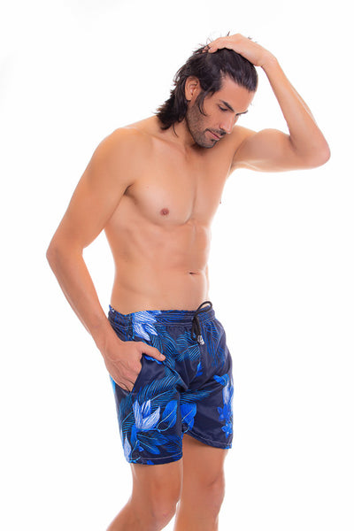 Pantaloneta de Hombre | Men's Swim Trunks Quick Dry Shorts with Pockets