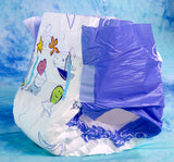 Pack of 10 Diapers - ABU Cushies V2 Diaper- Medium or Large  - Plastic  - ABDL