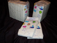 Sample Pack of 12 Diapers - Include ABU - Bambino - Rearz  and more