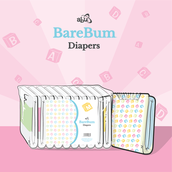 BareBum Diaper By ABU
