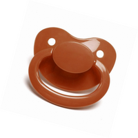 Coffee Color Adult Sized Pacifier Dummy for Adult Baby - ABDL