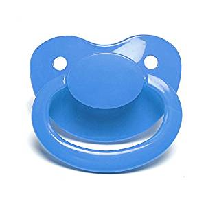 Light Blue Adult Sized Pacifier Dummy for Adult Baby - ABDL
