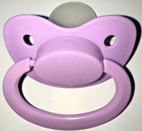 Light Purple Adult Sized Pacifier Dummy for Adult Baby - ABDL