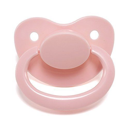 Pink Adult Sized Pacifier Dummy for Adult Baby - ABDL