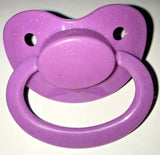 Purple Glitter Adult Sized Pacifier Dummy for Adult Baby - ABDL
