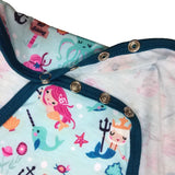 Under the Sea Adult Romper / Onesie Snap Crotch
