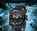 World Explorer Chronograph Multifunction Sport Travel Watch