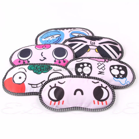 Elite Travel Cute Blindfold Travel Eye Mask
