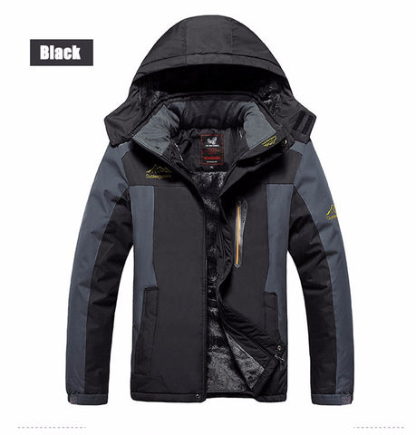 Elite Travel Fleece Waterproof Winter Jacket For Cold Travel