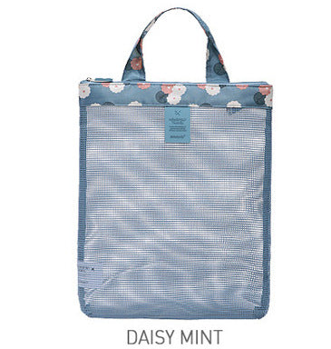 Footstep Blue 32 Liters Travel Mesh Bag