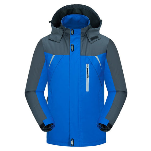 World Explorer Casual Blue Travel Coat