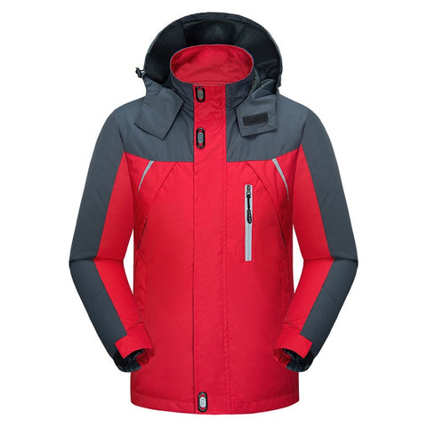 World Explorer Casual Red Travel Coat