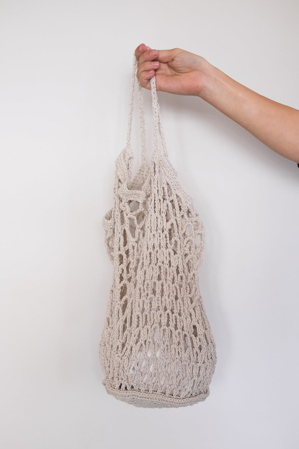 Natural Crochet Market Bag
