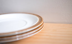Small Vintage Plates - England Made