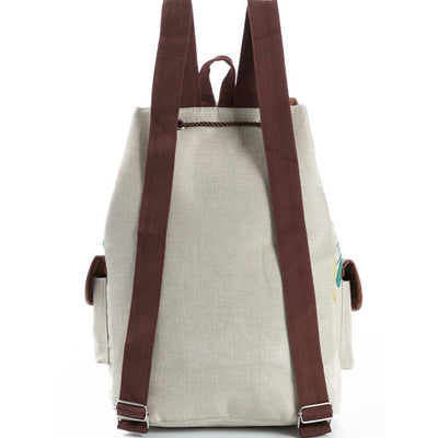 Unicorn Linen Backpack
