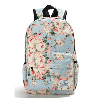 Miyahouse Fresh Floral Backpack - 16""