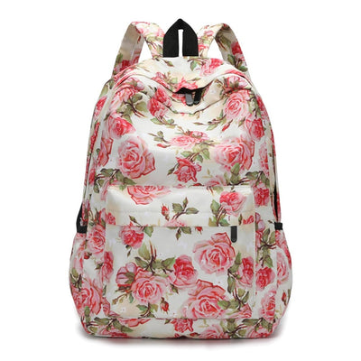 Floral Backpack - 12""