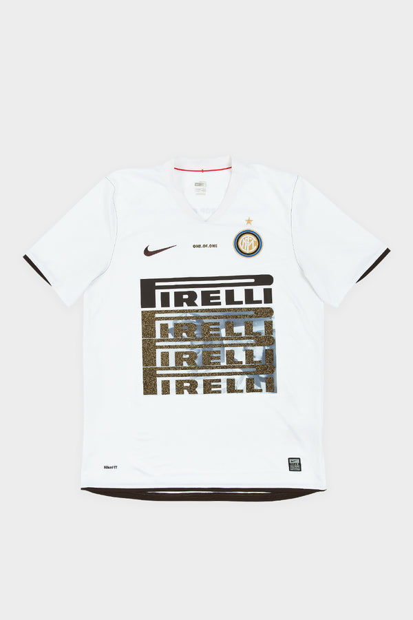 REWORKED INTER MILAN SHIRT - WHITE