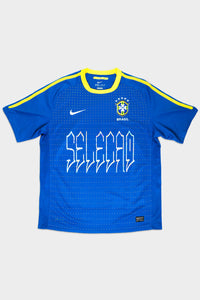 REWORKED AWAY BRAZIL SHIRT - 2010/11