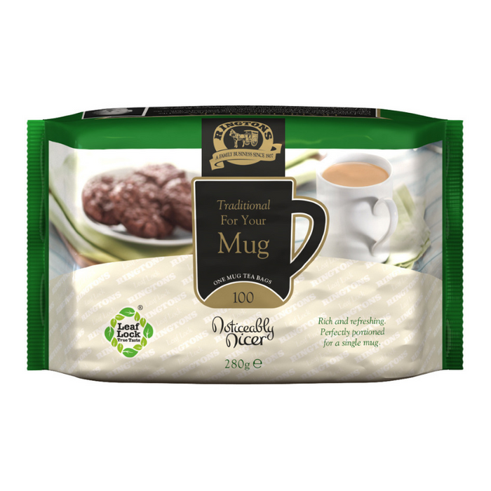 Traditional Love Your Mug Tea Bags (100)