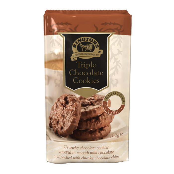 Triple Chocolate Cookies (200g)
