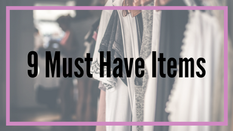 9 Must Have Items | Addie's Boutique | Addie's Corner | Fashion Blog