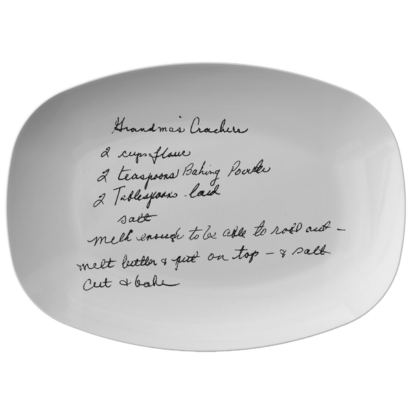 Recipe plater for Arndt - 24th Ave Designs