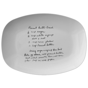 Family Recipe Platter - For Regina Sampson - 24th Ave Designs